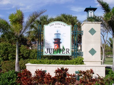 Town of Jupiter sign good one
